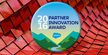 salesforce 2016 partner innovation award slider