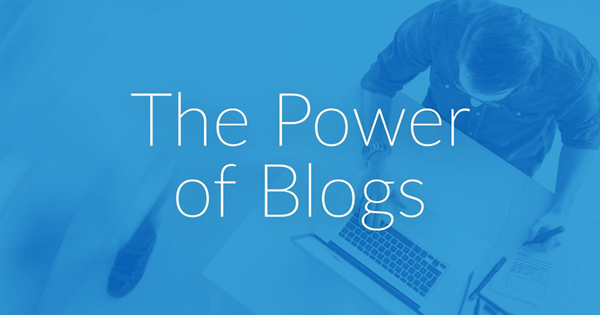 The power of blogs