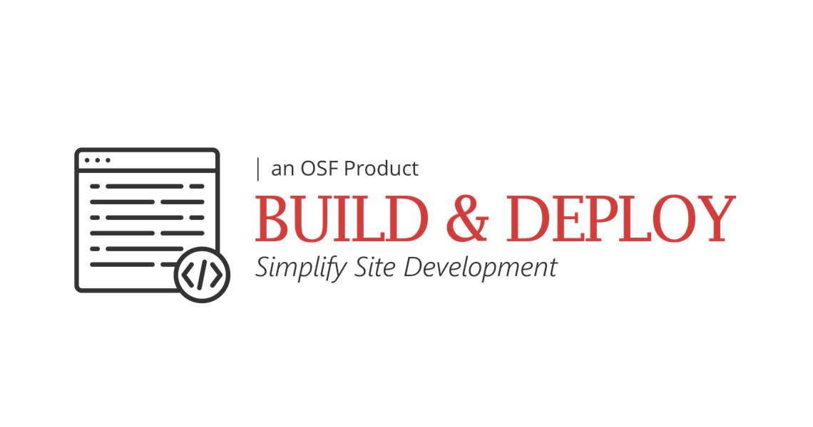 Build & Deploy Product