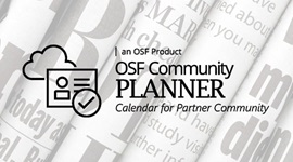 OSF Community PLANNER