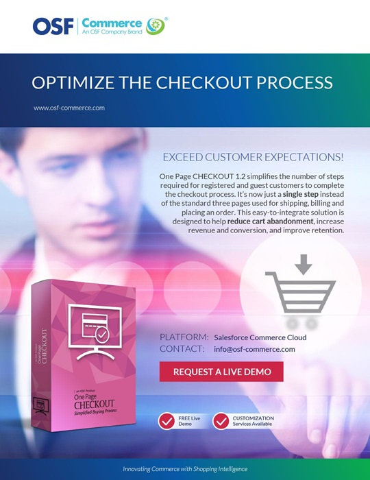 OSF One Page CHECKOUT brochure